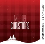 christmas card | Shutterstock .eps vector #117748609