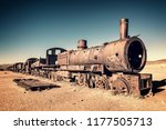 Old Rusty Locomotive Abandoned...
