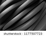 black wall background. modern... | Shutterstock . vector #1177507723