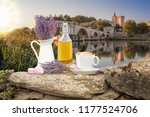 Lavender Still Life With Cup Of ...