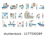 diagnostic and treatment of... | Shutterstock .eps vector #1177530289