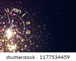 2019 new years background... | Shutterstock .eps vector #1177534459