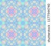 geometric design  mosaic of a... | Shutterstock .eps vector #1177544740