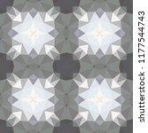 geometric design  mosaic of a... | Shutterstock .eps vector #1177544743