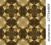 geometric design  mosaic of a... | Shutterstock .eps vector #1177544809