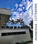villa tugendhat terrasse | Shutterstock . vector #1177545496
