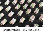 marshmallow pastel shades on... | Shutterstock . vector #1177552516
