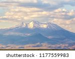 view of the mount erciyes  ...   Shutterstock . vector #1177559983