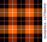 halloween tartan plaid.... | Shutterstock .eps vector #1177564549