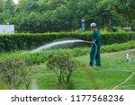 chongqing  china august 28 ... | Shutterstock . vector #1177568236