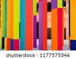 abstract geometric pattern on a ... | Shutterstock . vector #1177575346