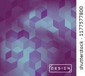 vector bright geometric... | Shutterstock .eps vector #1177577800