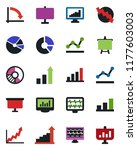 color and black flat icon set   ... | Shutterstock .eps vector #1177603003