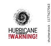 hurricane cyclone icon.... | Shutterstock .eps vector #1177627063