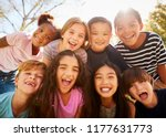 multi ethnic group of... | Shutterstock . vector #1177631773