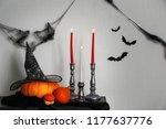 creative decor for halloween...   Shutterstock . vector #1177637776