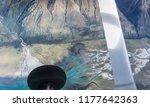 scenic flight over new zealand...   Shutterstock . vector #1177642363