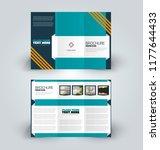 brochure design. creative tri... | Shutterstock .eps vector #1177644433