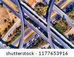 bridges and ramps of... | Shutterstock . vector #1177653916