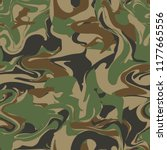 forest camouflage. vague... | Shutterstock .eps vector #1177665556