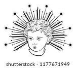 vector hand drawn illustration...   Shutterstock .eps vector #1177671949