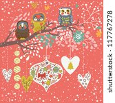 holiday concept illustration.... | Shutterstock .eps vector #117767278