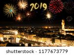 new year's eve in florence ... | Shutterstock . vector #1177673779