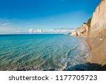 corfu island  greece  ionian...   Shutterstock . vector #1177705723