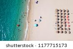 aerial drone bird's eye view of ... | Shutterstock . vector #1177715173