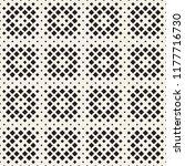 stylish halftone texture.... | Shutterstock .eps vector #1177716730