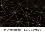 gold black background with...   Shutterstock . vector #1177739599