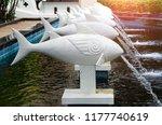 Modern Design Of Fish Fountain...