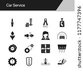 car service icons. design for...