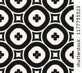 vector monochrome floral...   Shutterstock .eps vector #1177755523