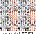 collage picture of different... | Shutterstock . vector #1177755979