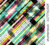 seamless pattern patchwork... | Shutterstock . vector #1177761529