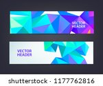 abstract polygonal  mosaic ... | Shutterstock .eps vector #1177762816
