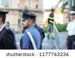 rome  italy   september 3  2018 ... | Shutterstock . vector #1177763236