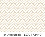 abstract geometric pattern with ... | Shutterstock .eps vector #1177772440