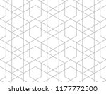the geometric pattern with... | Shutterstock .eps vector #1177772500