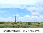 pulling unit working in the... | Shutterstock . vector #1177787596