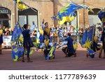 ferrara  italy   9 september... | Shutterstock . vector #1177789639