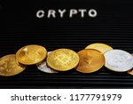 technology concept crypto... | Shutterstock . vector #1177791979