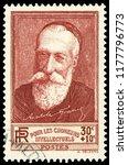 paris  france   1936  anatole... | Shutterstock . vector #1177796773