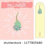 set of vector cartoon... | Shutterstock .eps vector #1177805680