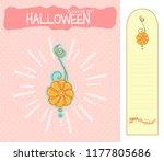 set of vector cartoon... | Shutterstock .eps vector #1177805686