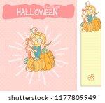 set of vector cartoon... | Shutterstock .eps vector #1177809949