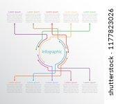 vector infographic templates... | Shutterstock .eps vector #1177823026