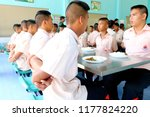 photo of thai students are arm... | Shutterstock . vector #1177824220