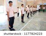 photo of thai teenage students... | Shutterstock . vector #1177824223